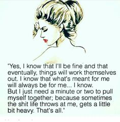 Even the strongest gets weak sometimes ...