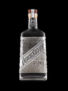Quicksilver Vodka on Behance