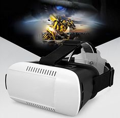 Findbest Virtual Reality VR Headset 3D Video Movie Game Glasses For 3.5~6 inch Smartphones iPhone 6 plus Samsung Galaxy S6 Edge  S4 Note 5/4 LG HTC Nexus, adjustable Focal Distance Pupil Distance -- For more information, visit image link.
