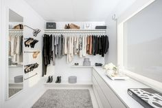 These 20 smart storage solutions if you struggle organizing your closet in the gallery below can help you find the solution that best fits your needs.