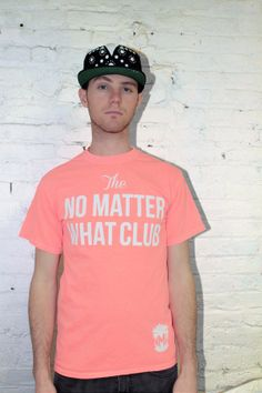 1d22db72 No Matter What Club Unisex Text Tee by NoMatterWhatClub on Etsy, $24.00  #DoItSober #
