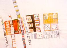 An Eva Hesse drawing