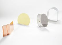 Bent Mirror Series by Nina Cho | sightunseen.com