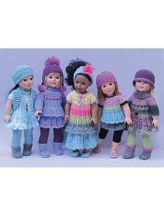 Simple Basic Wardrobe for 18-Inch Dolls