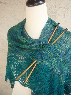 peasant shawl, my daily fiber