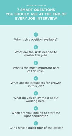 When you ask the right job interview questions, you're giving your potential employer proof that you're the candidate she needs. Can't go wrong with that. | Career Contessa