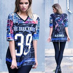 Tier 1- Batman Touchdown (WW ONLY $120AUD) by Black Milk Clothing