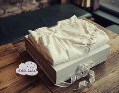 Christening gown storage and preservation box. Baby keepsake box. #christening #heirloom #baptism https://www.etsy.com/shop/BelleBebeGowns