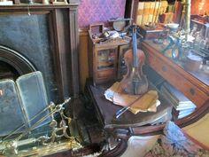 #SherlockHolmes, #SherlockHolmesMuseum, #BakerStreet, #Victorian, #interior