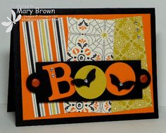 BOO by stampercamper - Cards and Paper Crafts at Splitcoaststampers