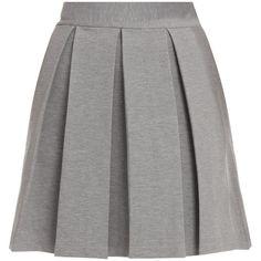MARKUS LUPFER Waist Pleat Skirt ($256) ❤ liked on Polyvore featuring skirts, bottoms, faldas, saias, pleated skirt, knee length pleated skirt and markus lupfer