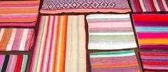 Walls, Windows & Floors: Striped Peruvian Rugs from Morris Etc. : Remodelista