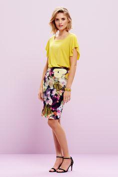 Kimono top met roxanna skirt