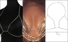 OMG THIS IS CUTE ! body chain, diy, fashion, chain, jewelry, diy body chain, how to make a body chain, style, body, body chains, tutorial, do it yourself, easy, how to, body jewelry, diy body jewelry, bodychain, moda, necklace, beauty, hand chain, thigh chain, how to wear body chains, diy waist chain, cheap, instagram, bra, do it yourself , chains, shopping, lingerie, sexy, diy crystal bra, colar, how-to, craft, create, diamond, do it yourself , gold, fashion nova