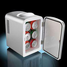 Sommertrip geplant, aber keine Möglichkeit, die Getränke zu kühlen? Mit diesem Camping Kühlschrank hältst Du das Bier kalt und Dein Essen warm. via: www.monsterzeug.de