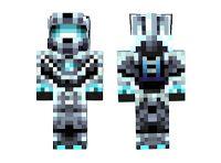 [Skins] Minecraft White Halo Skin