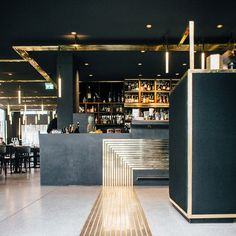 interior for Herzog Bar & Restaurant München, Build Inc Architects