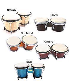 Solid Wood Bongo Drums - Asa, birthday