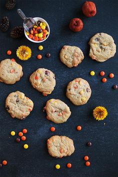 Reese's Pieces Halloween Cookies | Evermine Occasions | www.evermine.com
