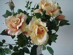Rosenbaum Rosenkugelbaum 100cm Rosen künstliche Pflanze getopft mehrfarb. Blüten