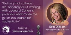 Erin Dickens on femusician.com