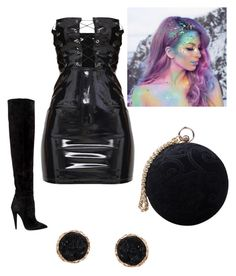 """""""Untitled #8"""" by alexandra-marinela on Polyvore featuring Yves Saint Laurent, The Gypsy Shrine, Carvela and Humble Chic"""