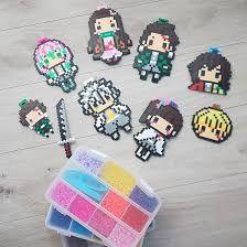 Beaded Cross Stitch, Cross Stitch Patterns, Hama Beads, Pixel Image, Beading Patterns, Beaded Jewelry, Anime, Yahoo, Homework