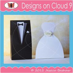 Designs on Cloud 9 Janie's Wedding Favor BoxesSVG and cutting files