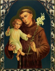 "June 13 is the feast day of Saint Anthony of Padua.  A Doctor of the Church and a noted Franciscan, St. Anthony has been called the ""Wonder Worker"" because miracles as a result of his intercession, and he is also known as the ""Patron Saint of Lost Things""–making him everyone's patron at one time or another!I will be praying a novena to St. Anthony over the next nine days, culminating in his feast day.  Here is one prayer you might use if you have a need or wish St. Anthony's interces..."
