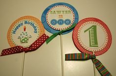 1st birthday party - recuerditos...