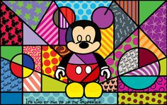 Find images and videos about disney, arte and mickey on We Heart It - the app to get lost in what you love. Mickey Mouse Works, Arte Do Mickey Mouse, Mickey Mouse E Amigos, Mickey Mouse And Friends, Disney Pop Art, Tableau Design, Disney Illustration, Painting Templates, Graffiti Painting
