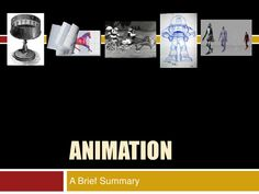 Animation<br />A Brief Summary<br /> History Of Animation, Summary, Art, Art Background, Abstract, Kunst, Performing Arts, Art Education Resources, Artworks