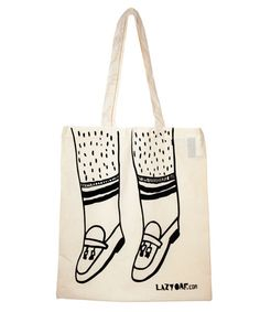 Lazy Oaf Loafers Tote Bag £6 Lazy Oaf, Reusable Tote Bags, Drawings, Accessories, Style, Naive, Fashion, Illustrators, Sketches