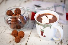 Hot-Chocolate-Truffle-Bombs Recipe - RecipeChart.com #Beverages #Christmas #Cocoa #Cozy #Delicious #Drinks #Holidays #SoGood #Warm