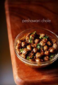 peshawari chole recipe. spicy white chickpea curry made in peshawari style.  #chole