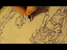 GRAVITY FALLS TRIBUTE FANART: Sketching and Lineart