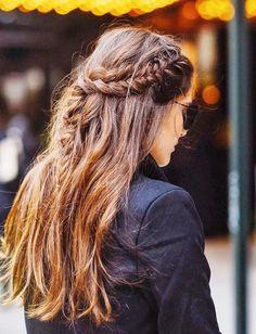 La tresse froissée, l'ultime alliée des longues chevelures ! (instagram Paola Alberdi)