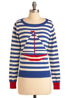 Staying in Ship Shape Sweater, #ModCloth, dont want, NEEEEED