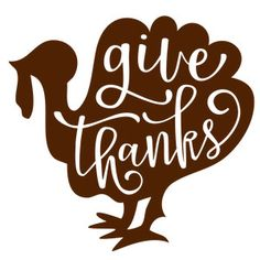 Silhouette Design Store: give thanks turkey phrase Silhouette Projects, Silhouette Design, Silhouette Cameo, Vinyl Crafts, Vinyl Projects, Mistletoe And Wine, Thanksgiving Projects, Cricut Craft Room, Diy Presents