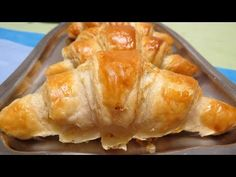 Croissants Franceses - Fácil e delicioso! - YouTube