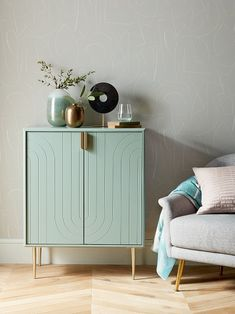 Buy Green John Lewis & Partners Harvard Storage Cabinet from our Cabinets & Sideboards range at John Lewis & Partners. Free Delivery on orders over Living Room Storage, Living Room Furniture, Cabin Furniture, Western Furniture, Hallway Storage Cabinet, Cabinet Knobs, Record Cabinet, Cabinet Fronts, Drawer Knobs