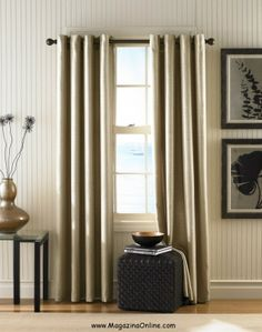 Monterey Textured Lined Grommet Drapery From Curtainworks Votreart 20 Modern Living Room Curtains Design