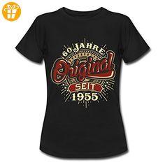 Geburtstag 60 Jahre Original RAHMENLOS® Frauen T-Shirt von Spreadshirt®, XXL, Schwarz - Shirts zum 60 geburtstag (*Partner-Link)
