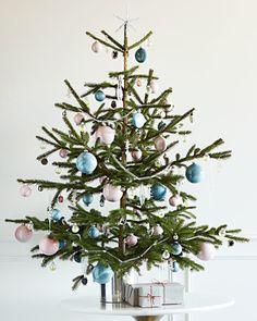crystal inspired christmas tree