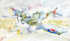 The Past, Aeroplanes, Painting, Art, Art Background, Painting Art, Kunst, Paintings, Performing Arts