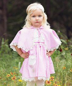 Love this Pink Frances Easter Dress & Cloak - Infant, Toddler & Girls on #zulily! #zulilyfinds