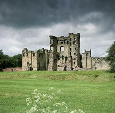 Ashby Castle forms the backdrop to the famous jousting scenes in Sir Walter Scott's classic novel of 1819, Ivanhoe. Now a ruin, the castle began as a manor house in the 12th century. - Ashby de la Zouch, Leicestershire, England.