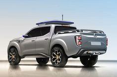 Renault Alaskan Pickup Truck Concept Debuts Ahead of Frankfurt