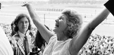 Penny Tweedy (Chenery) - Secretariat wins the Triple Crown!