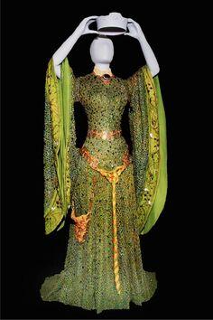 cf5d6a34239 Gorgeous beetle shell dress worn by Ellen Terry as Lady Macbeth (National  Trust) Lady